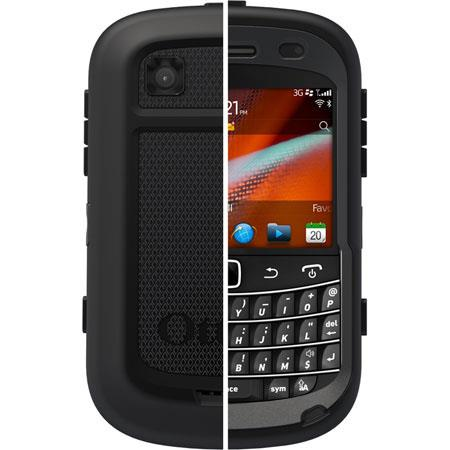 OtterBox Defender Case for BlackBerry 9900 (Bold Touch) - Black