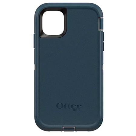 OtterBox Defender Screenless Edition Case for iPhone 11, Gone Fishin Blue