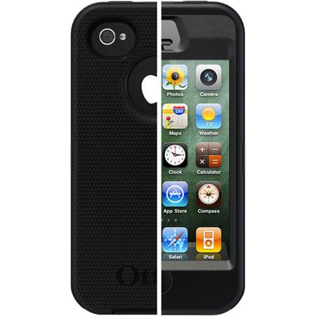Otterbox Defender Case for i-Phone 4S - Black