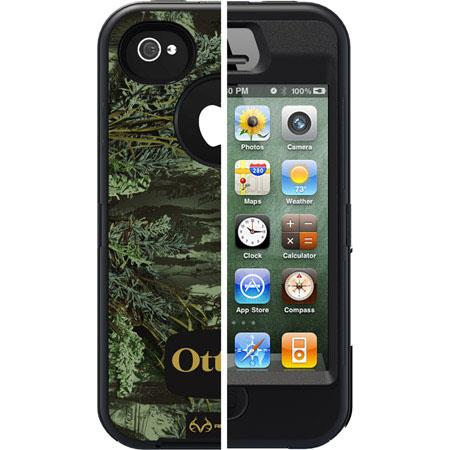 OtterBox Defender Case for Apple iPhone 4S - Camo Max 1 Blaze