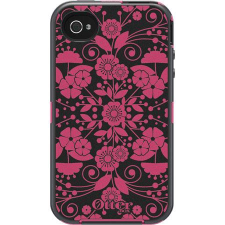 OtterBox Defender Studio Collection Eternality Case for Apple iPhone 4S/4, Perennial