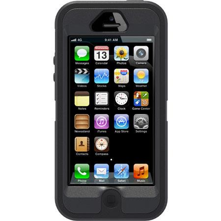 OtterBox Defender Case for iPhone 5, Black