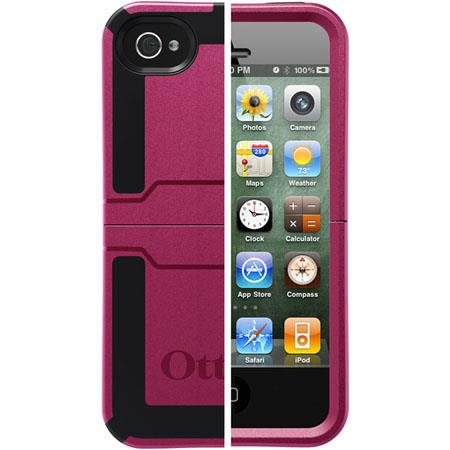 Otterbox Reflex Case for iPhone 4S, Deep Plum