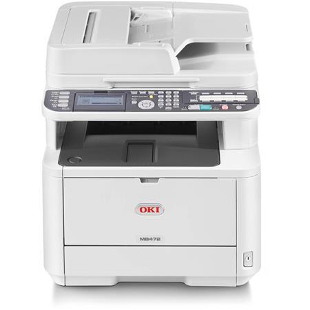 OKI Data OKI Data MB472w Wireless Monochrome Multifunction LED Printer, 35ppm Black/White, 1200x1200 dpi, 250 Sheet Input...