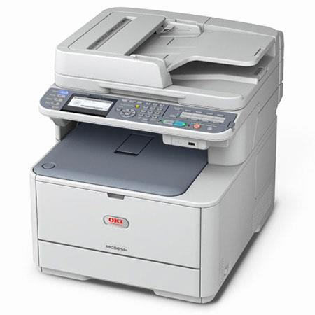 OKI Data MC561 Multifunction Color Printer, Printer, Copier & Scanner, 27 / 31 ppm, Up to 1200x600dpi