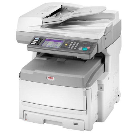 OKI Data MC860 Multifunction 1 Tray Color Printer, Copier, Scanner & Fax, 26 / 33 ppm, Up to 1200x600dpi