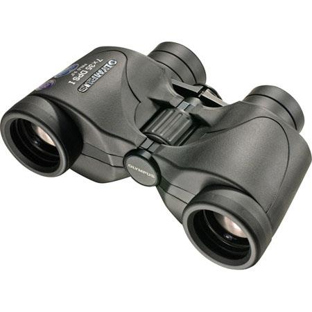 Olympus Trooper 7 x 35 DPS I, UV Protected, Weather Resistant Porro Prism Binocular, with 9.3 Degree Angle of View image