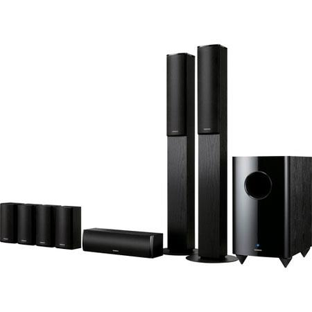 Onkyo SKS-HT870 7.1-Channel Home Theater Speaker System, 130W Front/Center/Surround Speakers, 230W Subwoofer