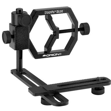 Orion SteadyPix Deluxe Camera Mount for Point-and-Shoot SLR/DSLR Cameras/1.25