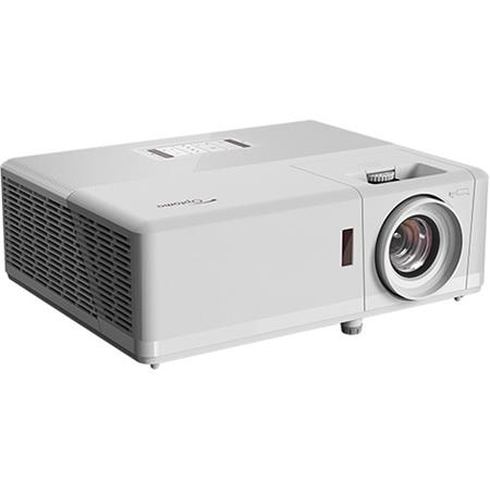Optoma ZH406 1080p Laser Projector, 1920x1080, 4500 Lumens, White Chassis