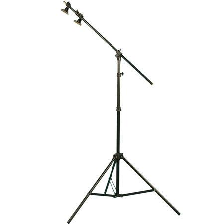 Interfit Photographic 8.25' Combi Boom Lightstand, with a Built in 5' Boom, Black.