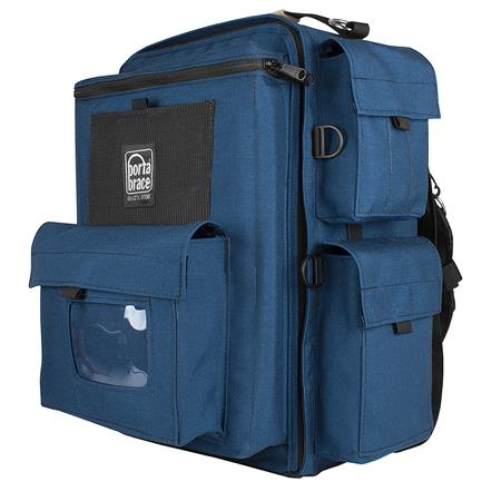 Porta Brace BK-1N Video Backpack, Blue with Red Accents for Various Camcorders includes