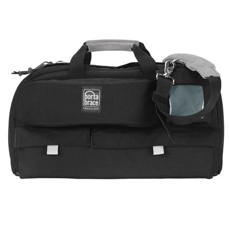 "Porta Brace Traveler Camera Case, Compact Mini-DV Video Camcorder Gadget Bag, Black includes a FREE Porta Brace PB2400F ""Safeguard"", Waterproof Compac"