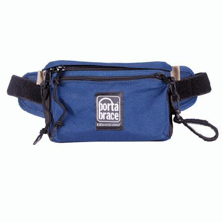 Porta Brace Hip Pack 1, Small Belly or Fanny Pack Gadget Bag, Blue
