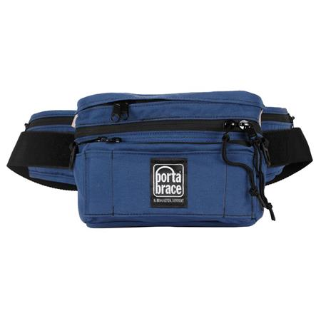 Porta Brace Hip Pack 2, Medium Belly or Fanny Pack Gadget Bag, Blue
