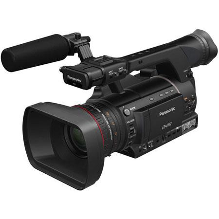 Panasonic AG-HPX250 2.2MP P2 HD Handheld Camcorder, 22x Optical Zoom, 3.45