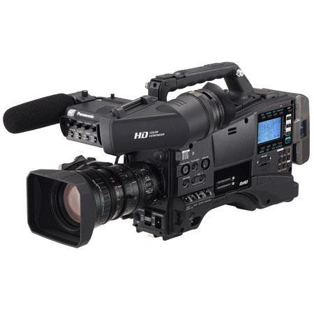 Panasonic AG-HPX600PJF P2 HD Shoulder-Mount Camcorder with AG-CVF15 Viewfinder and Fujinon XA16x8A-XB4 Lens, 2x/4x Digital Zoom, 16:9 Aspect Ratio