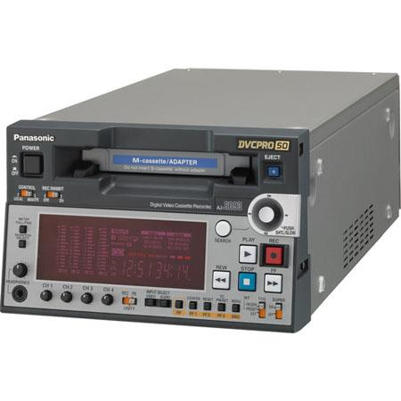 Panasonic AJ-SD93 Half-Rack DVCPRO 50/25 Digital VTR with DVCAM Playback and IEEE 1394 Interface