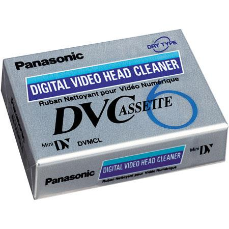 Panasonic Head Cleaner for Digital Mini DV Camcorders. image