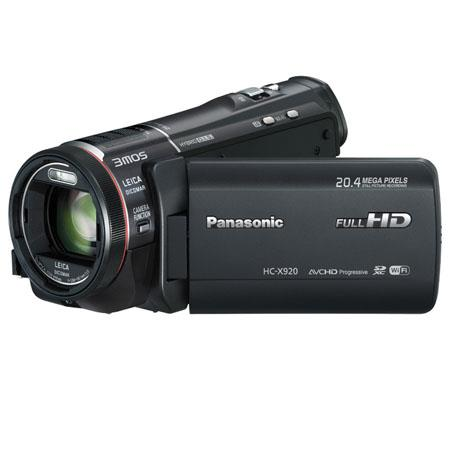 Panasonic HC-X920 Ultrafine Full HD Camcorder, 20.4MP, 1/2