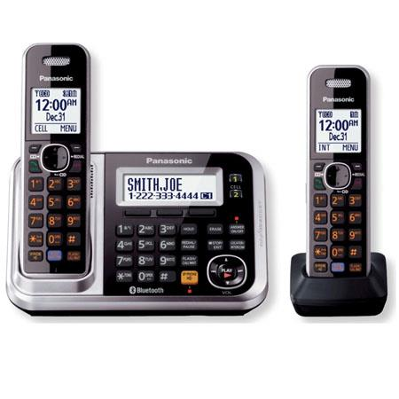 Panasonic KX-TG7872S Link2Cell Bluetooth Cellular Convergence Solution with 2 Handsets