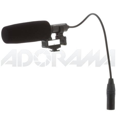 Panasonic MIC150 Phantom-Powered Unidirectional Shotgun Microphone with XLR Connection, for the AG-HMC150 and AG-HMC40 Camcorders