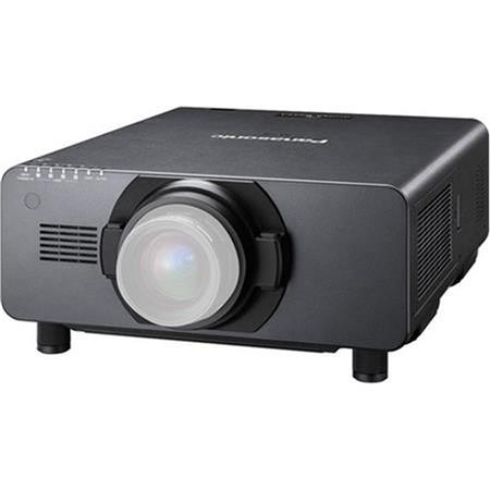 Panasonic PT-DS20KU 3D Ready DLP Projector, 20,000 ANSI Lumens, 1400x1050 Native Resolution, High Power 4-Lamp System, No Lens