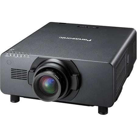 Panasonic PT-DW17KU Large Venue 3-Chip DLP Projector, 17000 Lumens, WXGA (1366x768) Resolution, 3D Color Management System, No Lens