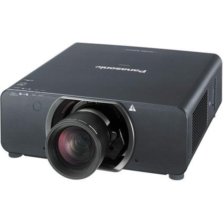 Panasonic PT-DZ10K-U WUXGA 3DLP Projector, 10600 ANSI Lumens, No Lens Included