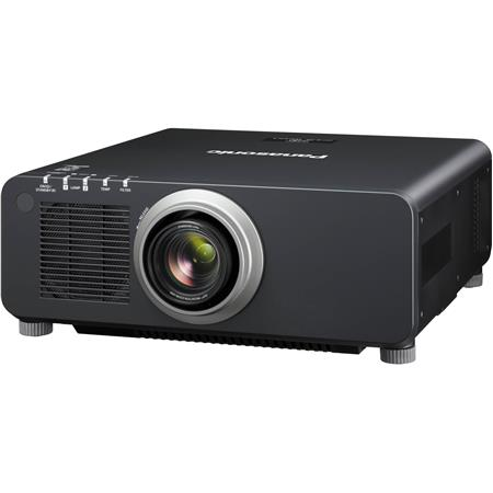 Panasonic PT-DZ870 8500 Lumens 1-Chip DLP Projector, Powered Zoom Lens , 10000:1 Contrast Ratio, WXGA 1920x1200 Resolution, 16:10 Aspect Ratio, 3D Ready, Black