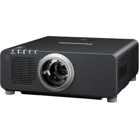 Panasonic PT-DZ870L 8500 Lumens 1-Chip DLP Projector, 10000:1 Contrast Ratio, WXGA 1920x1200, 16:10 Aspect Ratio, 3D Ready, Lens not Included, Black