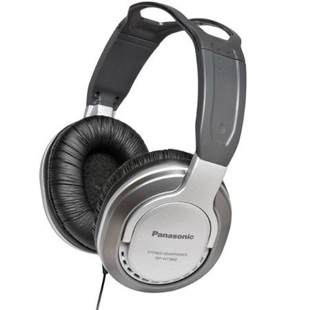Panasonic RP-HT360 Full Size Monitor Headphone, 10Hz-27kHz Frequency, 40 Ohm Impedance, 100 dB Sensitivity, Wired Connectivity