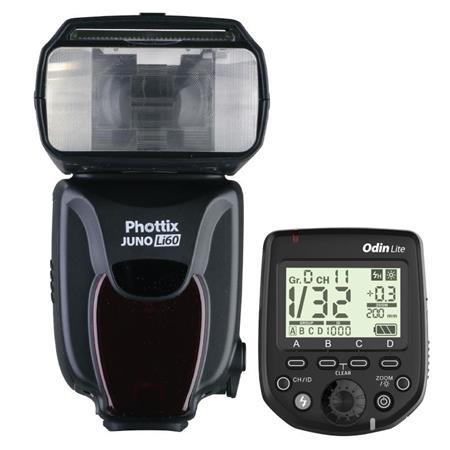 Phottix Juno Li60 Transceiver Flash with Odin Lite Trigger Combo