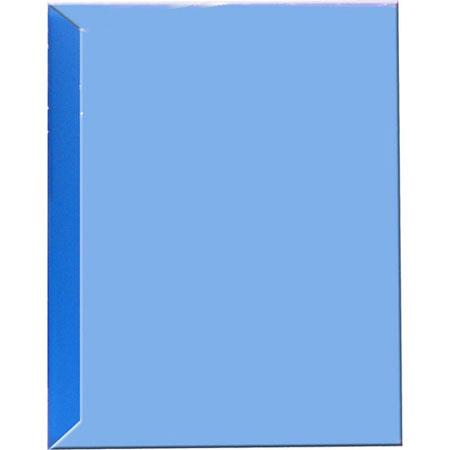 "Pioneer Space Saver Pocket Bound Photo Album, Solid Color Covers with Clear Pocket, Holds 72 4x6"" Photos, 2 Per Page. Color: Blue."