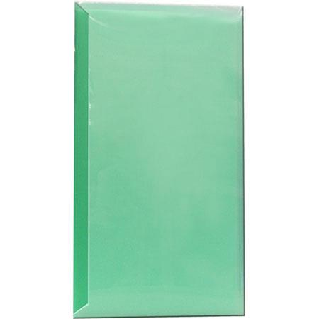 "Pioneer Space Saver Pocket Bound Photo Album, Solid Color Covers with Clear Pocket, Holds 144 4x6"" Photos, 3 Per Page. Color: Green."