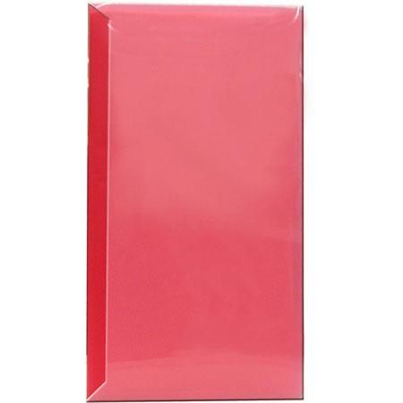 "Pioneer Space Saver Pocket Bound Photo Album, Solid Color Covers with Clear Pocket, Holds 144 4x6"" Photos, 3 Per Page. Color: Red."