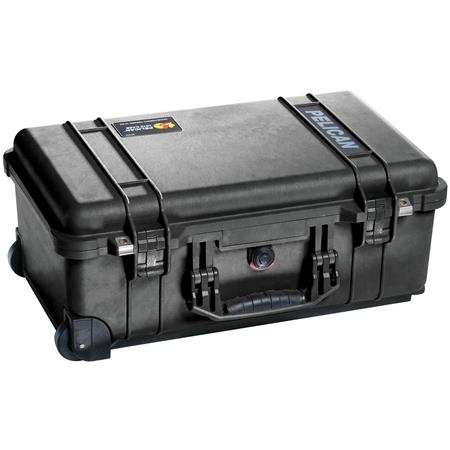 Pelican 1510TP Carry-On Case with TrekPak Divider System, Black