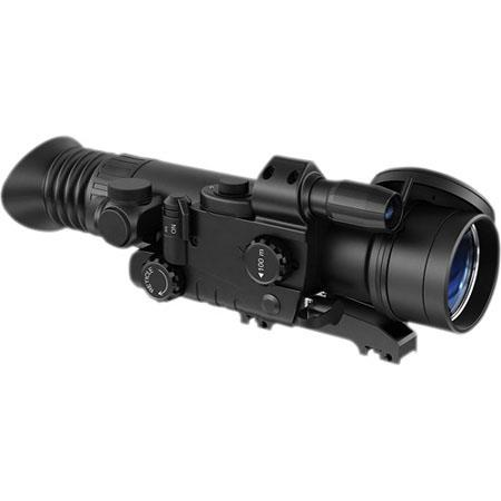 Pulsar Sentinel GS 2.5x60 Night Vision Riflescope, Gen 1+ Image Intensifier, 36-42 lp/mm Resolution