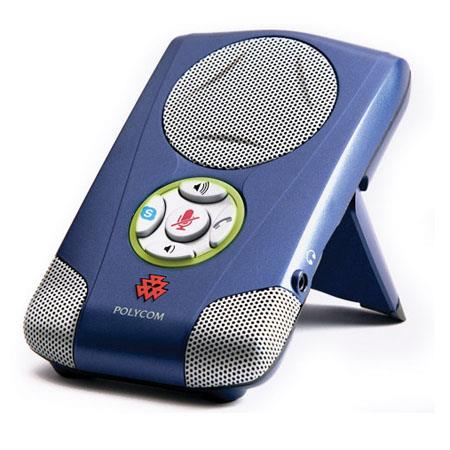Polycom Communicator C100S USB Speakerphone for Skype, Blue