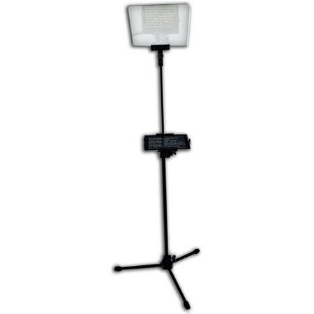 Prompter People Flex Presidential Style Prompter for iPad, 6-12' Reading Range, 60/40 Beamsplitter Glass