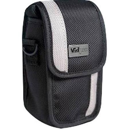 VidPro CL-1 Small Point & Shoot Film & Digital Camera Case, Black / Beige, 3.6x2.5x1