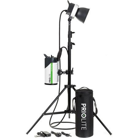 Priolite M-Pack 500J Frankfurt Kit with 1000 Flash Head, M-Pack 500 Power Pack