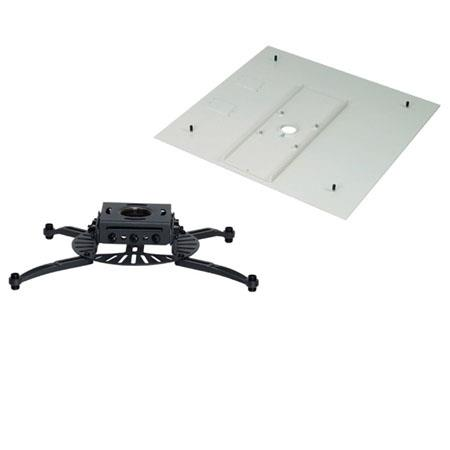 Premier Mounts PDS-FCMA Universal Projector Mount with False Ceiling Adapter, Black