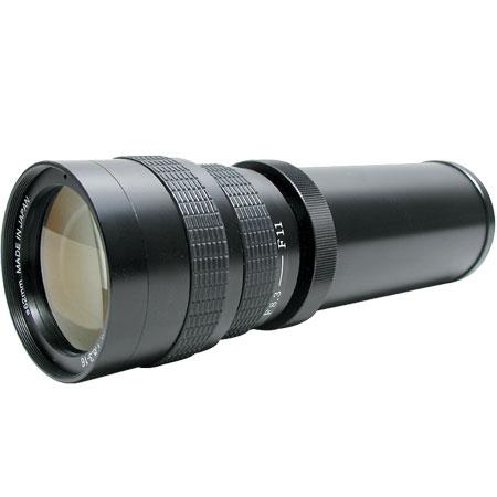 ProOptic 420-800mm f/8.3-16 Vari Zoom T-mount, Manual Focus Lens, Requires a T Mount for Your Camera (KENKO)