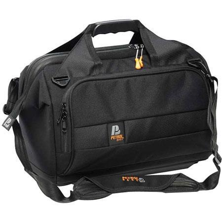 Petrol Deca Doctor Camera Bag 4 for Canon and Panasonic Camcorders, Cordura/Nylon, Black