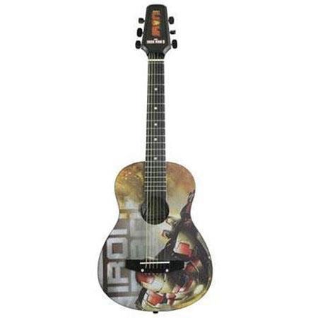 Peavey Marvel Jr.Iron Man 3 1/2 Size Acoustic Guitar, 18 Frets, Hardwood Neck, Basswood Fingerboard, Basswood Body