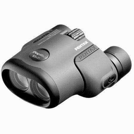 Pentax 6.5 x 21 Papilio, Weather Resistant Porro Prism Butterfly Binocular with 7.5 Degree Angle of View, Focuses Down to 1.6 ft., Black. image