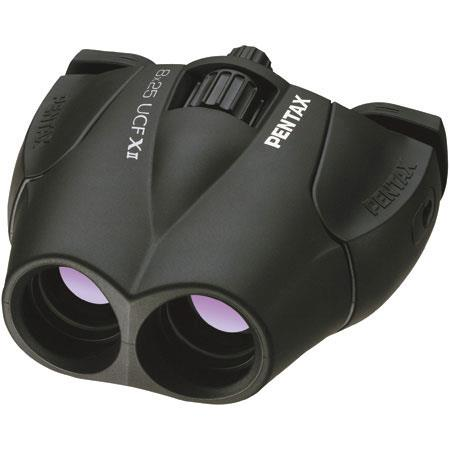 Pentax 8 x 25 UCF-X II, Compact Weather Resistant Porro Prism Binocular with 6.2 Degree Angle of View, Limited Lifetime USA Warranty image