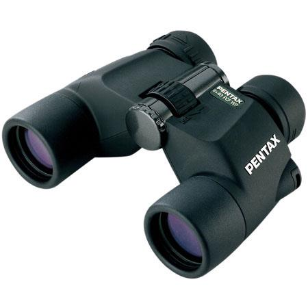 Pentax 8 x 40 PCF WP II, Water Proof Porro Prism Binocular with 6.3 Degree Angle of View, U.S.A. image