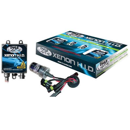 Pyle PHDH10K12K 12000K Single Beam H10 HID Xenon Driving Light System